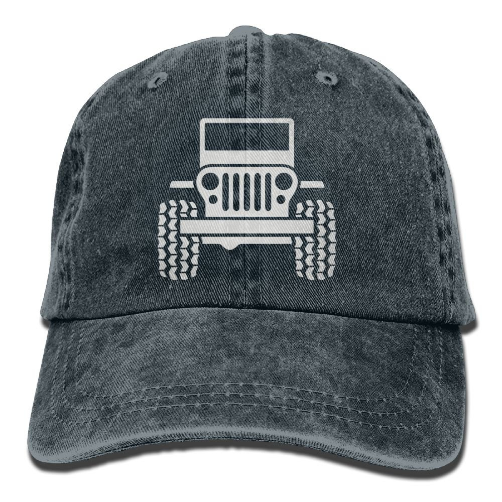 Arsmt Jeep Denim Hat Adjustable Female Cute Baseball Hat