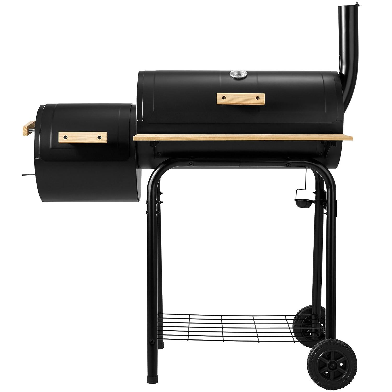 TecTake Barbacoa Barbecue Grill con Carbón Vegetal Parrilla Fumador - Varios Modelos - (Grill con carbón Vegetal Parrilla Fumador | no.