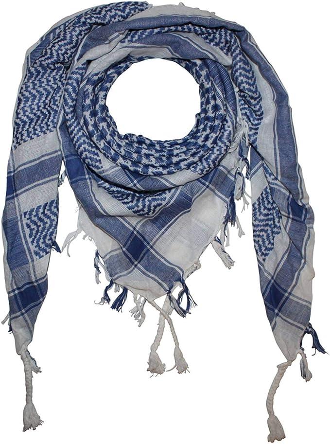 100/% Baumwolle Palituch mit Totenkopf-Muster 4-5+ Farben Superfreak Palituch Pali Pal/ästinenser Arafat Tuch