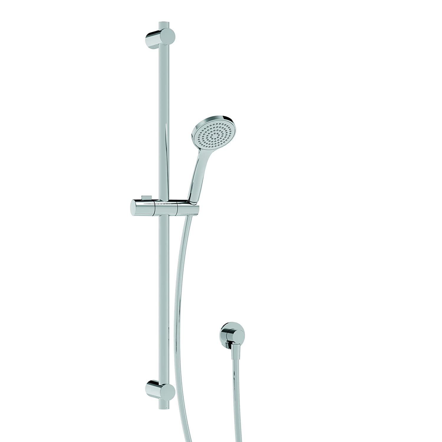 Mixer Bathroom Taps The Tower italia150 Riser Complete Water Socket and doccettacromo