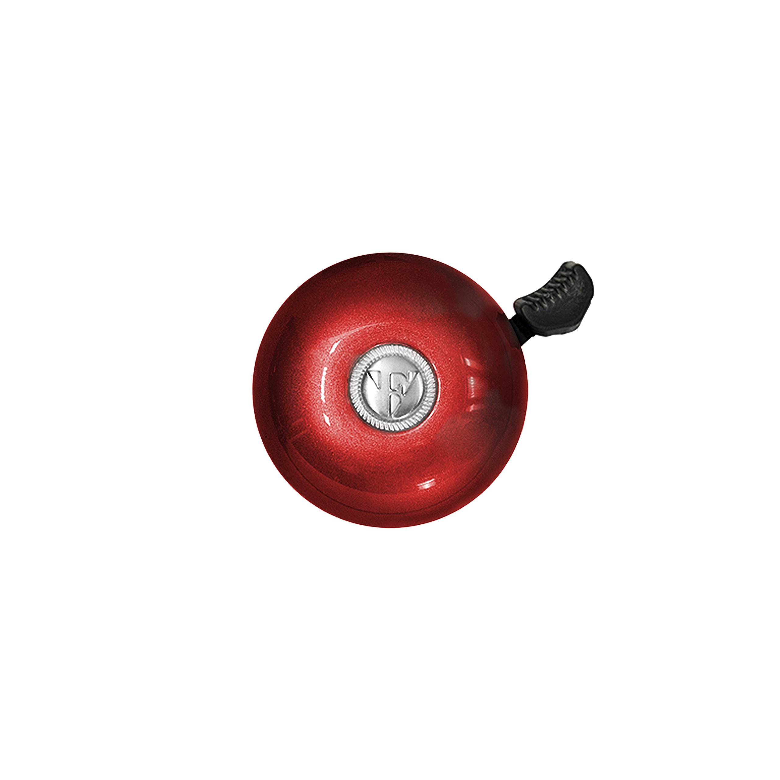 Firmstrong Classic Beach Cruiser Bicycle Bell, Red