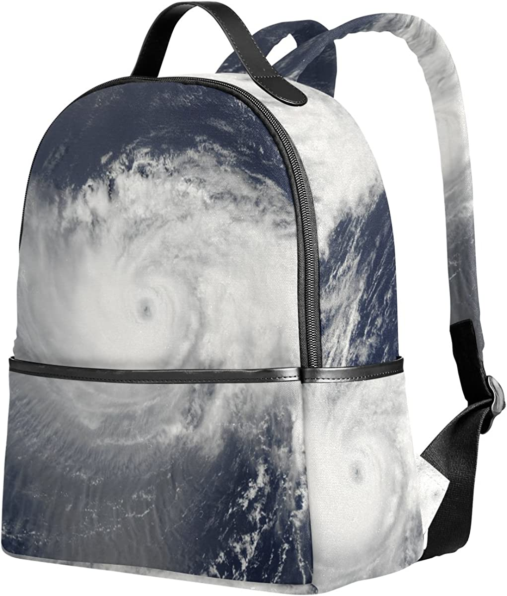 Mr.Weng Tornado Printed Canvas Backpack For Girl and Children