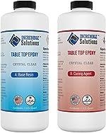 2 Quart Kit, Table Top & Bar Top Epoxy Resin, Crystal