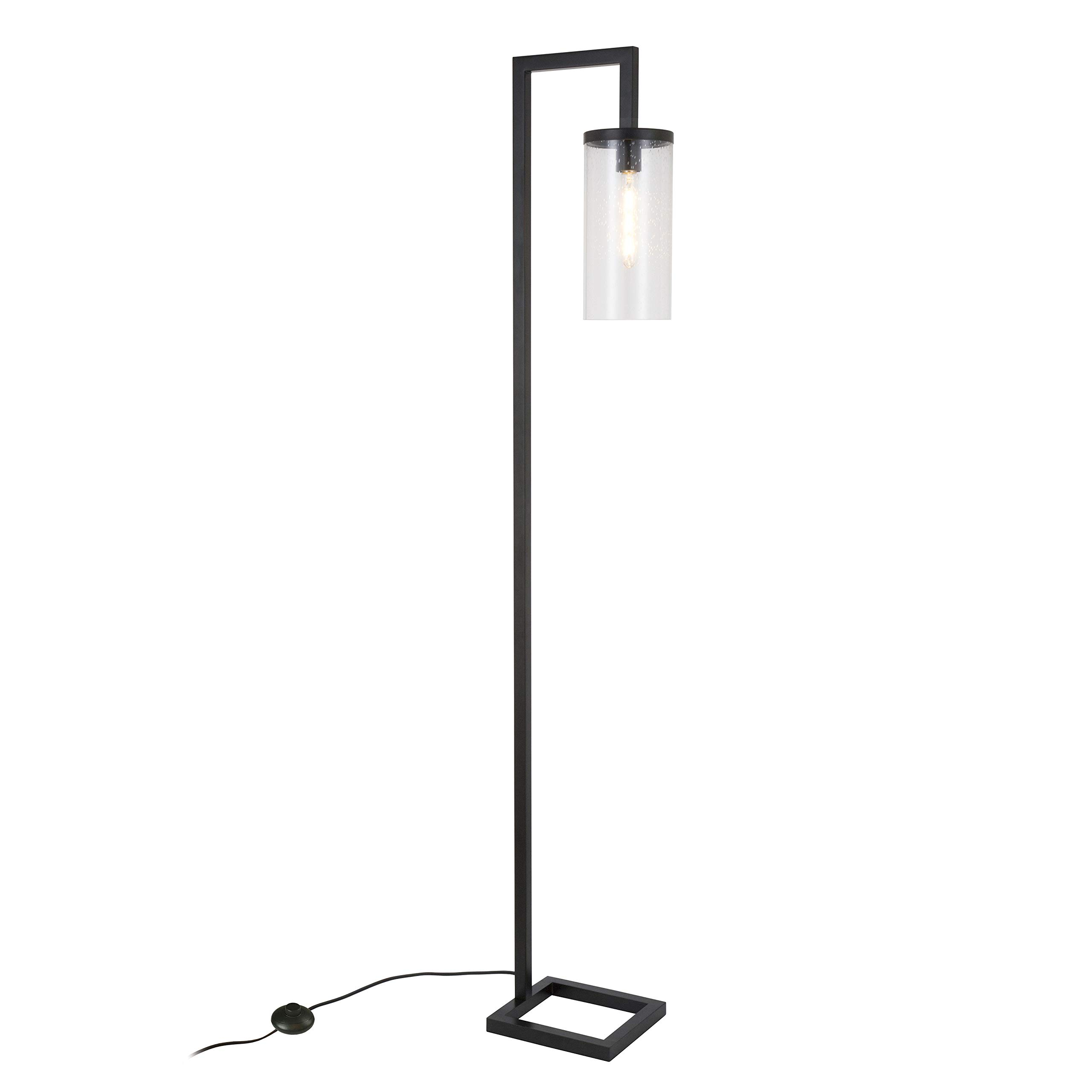 Henn&Hart FL0014 Modern Farmhouse seeded Task Lamp, One Size Black by Henn&Hart (Image #9)