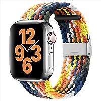 youmaofa Bransoletka kompatybilna z Apple Watch 41 mm, 45 mm, 40 mm, 44 mm, 38 mm, 42 mm, regulowana, pleciona…