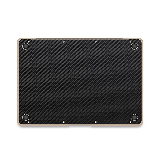 Amazon.com: iCarbons Black Carbon Fiber Vinyl Skin for MacBook Pro 12