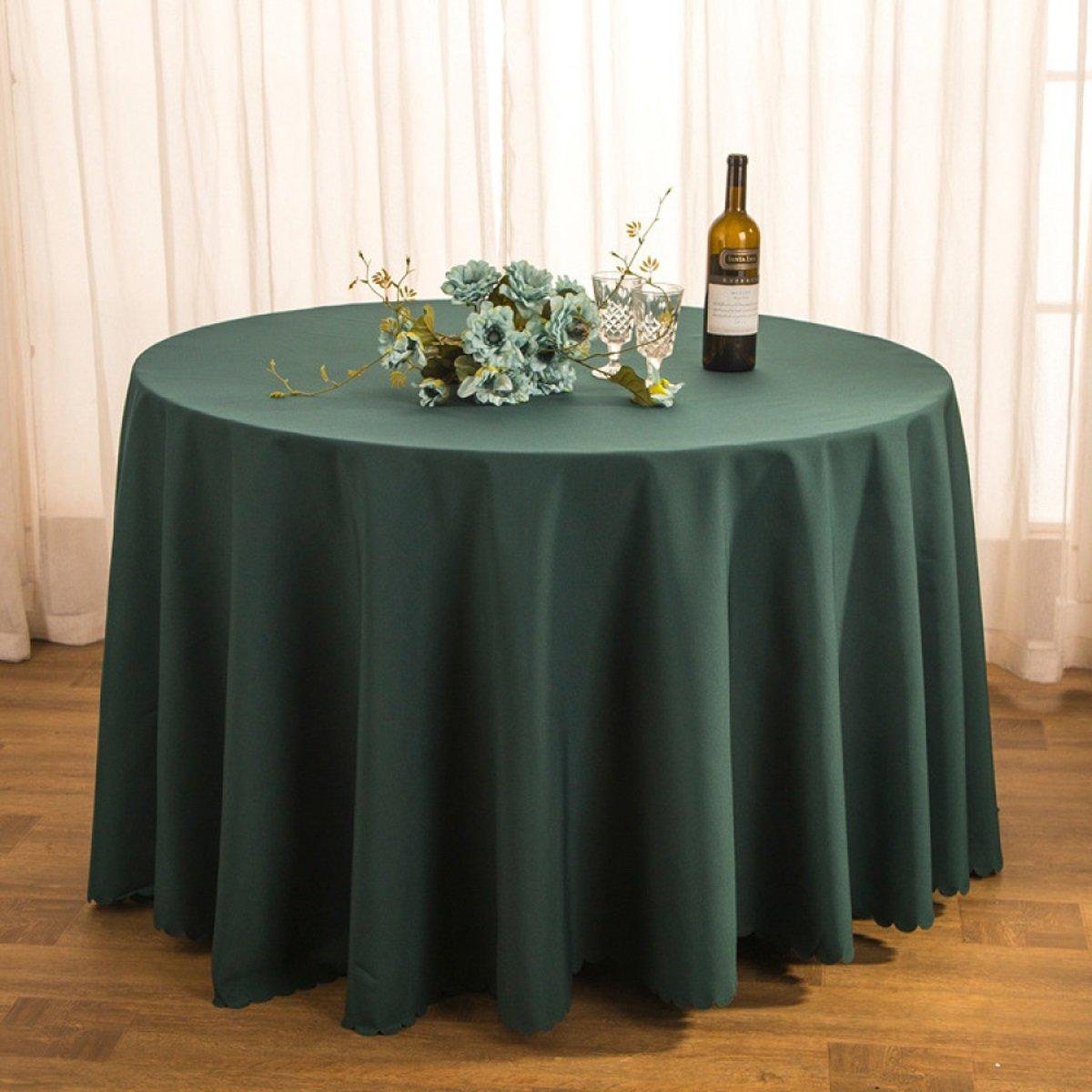 Tao Tischtuch Tischdecke Stoff Tee Tischdecke Hotel Restaurant Polyester Tischdecke Konferenztisch Rock Hochzeit Jacquard Runde Tischdecke Öl-Besteändig Leicht zu reinigen (Farbe   G, größe   320cm) B07CSSKZ82 Tischdecken Neuheit Spie