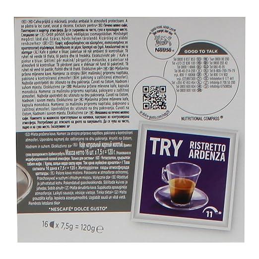 80 x Nescafé Dolce Gusto Espresso, Barista, Intenso, 80 Cápsulas: Amazon.es: Hogar