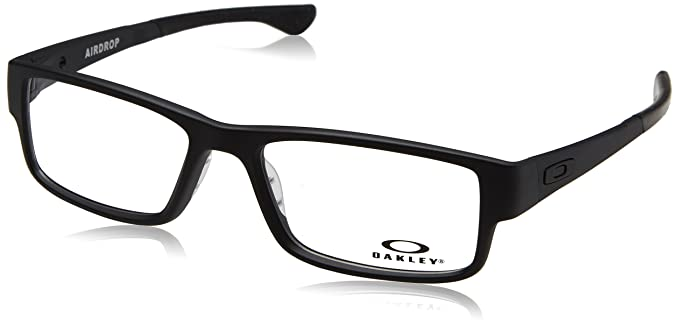 Amazon.com: Oakley Men\'s Eyewear Frames OX8046 57mm Black 0157: Clothing