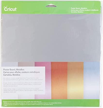 2002741 CRICUT Poster Board Metallics