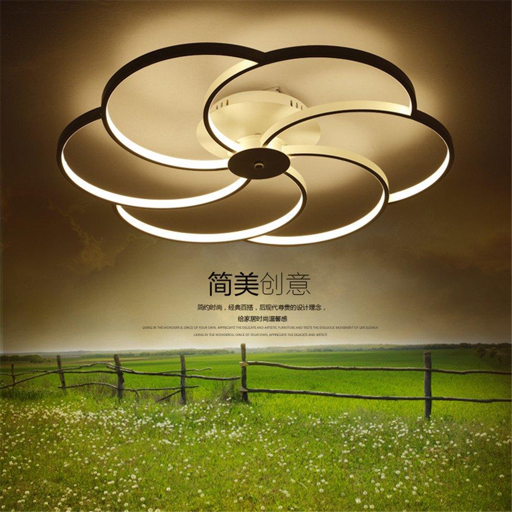 BRIGHTLLT  Minimalistischen modernen Wohnzimmer Deckenleuchte mit post-moderne Schlafzimmer Lampe warm kreative Restaurant Licht Lampen, 550 mm Kinder Zimmer