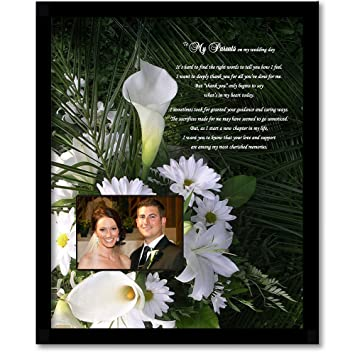 Amazon Thank You Wedding Gift For Parents From Bride Or Groom