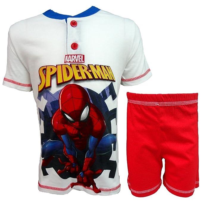 Spiderman Bambino Pigiama Corto
