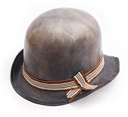 f602ea41a0 Move Roma - Bowler Hat Leather Men Melon - Size 60 cm  Amazon.co.uk   Clothing