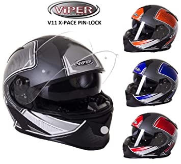 Casco Integral Moto Touring Viper V11 Full Face Casco ...