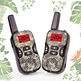 Amazon Price History for:Walkie Talkies for Kids, Boy Toys Handheld Walkie Talkies with Flash Light 4 Miles 22 Channel 2 Way Radio kids Christmas Gifts 5-year old Boys and Girls Perfect for Outdoor Games Camping Hiking (Camo)