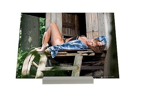 Soporte Fotografias Pin Up Art Adulto bosque Lingerie Cartel