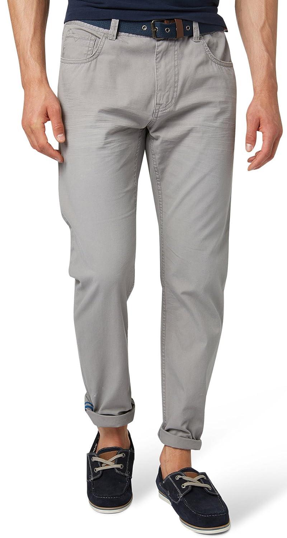 Mens Hose Uni Long Travis Regular Trousers Tom Tailor x7g6x