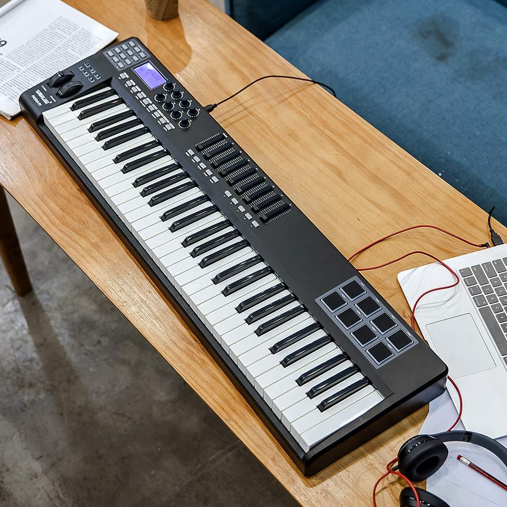 Decdeal WORLDE Panda 61 Portable 61-Key USB MIDI: Amazon.in: Electronics