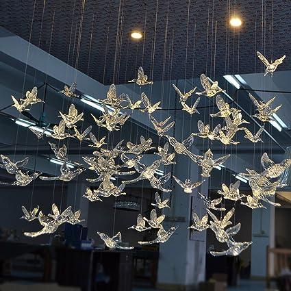 Amazon Com Laugh Cat Creative Diy Flying Bird Decorative Ceiling