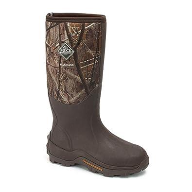 Muck Boot Mens Brushlander All-Terrain Hunting 8 Brown Camo Wet-AVBB