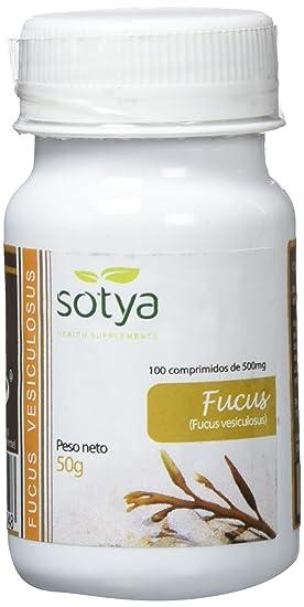 Sotya Fucus, 100 Comprimidos, 500 mg: Amazon.es: Salud y cuidado personal