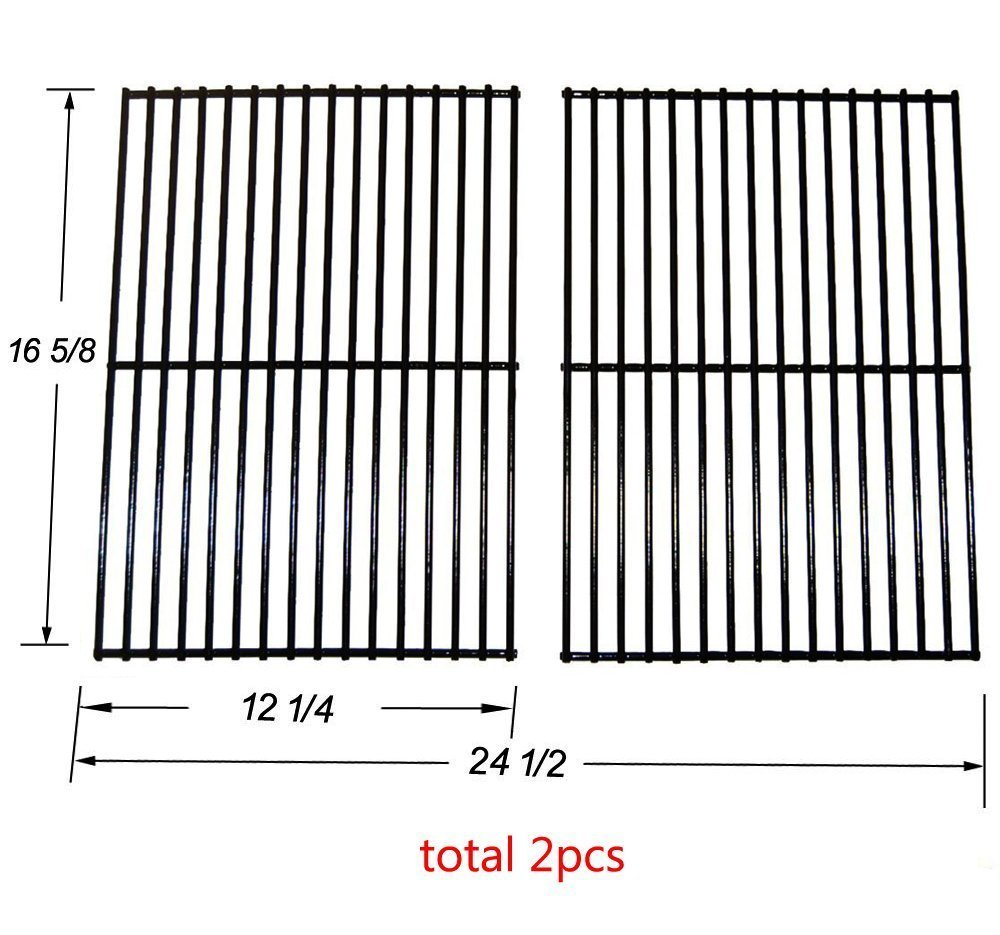 52932 MCM - Centro, Charbroil, Front Avenue, Fiesta, Kenmore, Kirkland, Kmart, Master Chef, and Thermos Gas Grill Porcelain Steel Wire Cooking Grid/Cooking Grates Grill Parts Factory