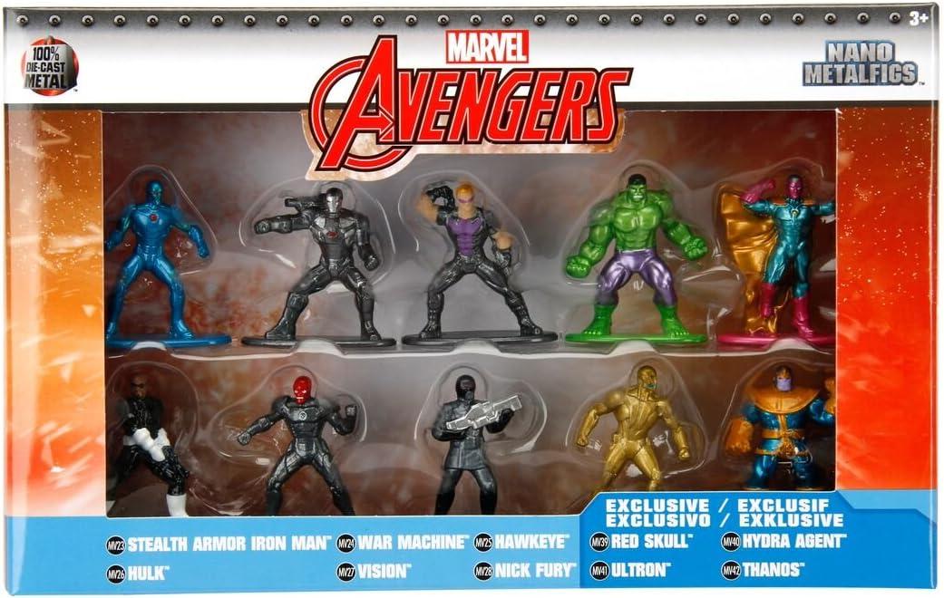 nano METALFIGS new Marvel WAR MACHINE