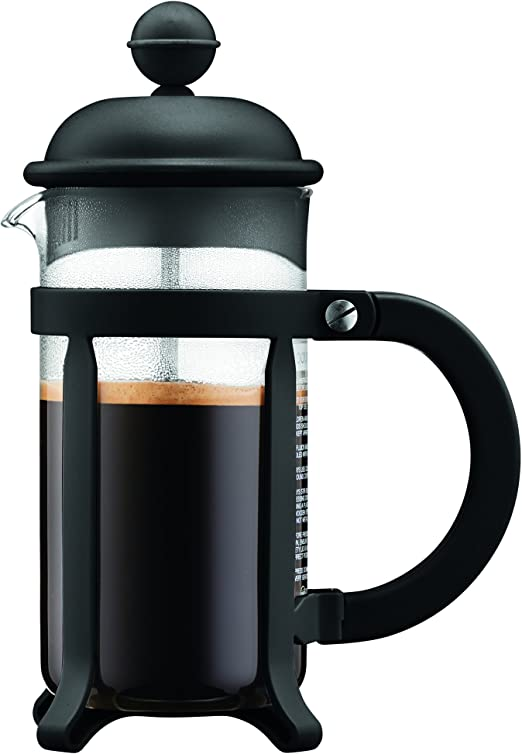 Bodum - 1903-01 - Java - Cafetera 3 Tazas - 0,35 l - Color Negro ...