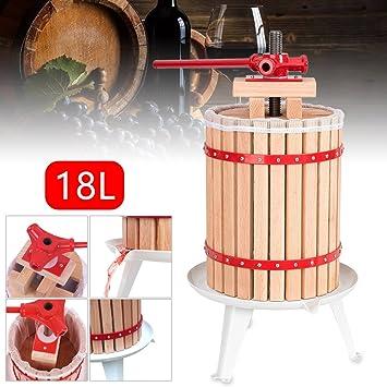 Obstpresse Obstpresse Saft mit 1 Presstuch Spindel Filternetz 18L