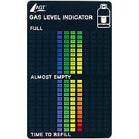 AGT Gasstandanzeige: Gasstand-Anzeiger für alle üblichen Gasflaschen (Gas Level Indikator) (Gasanzeiger)