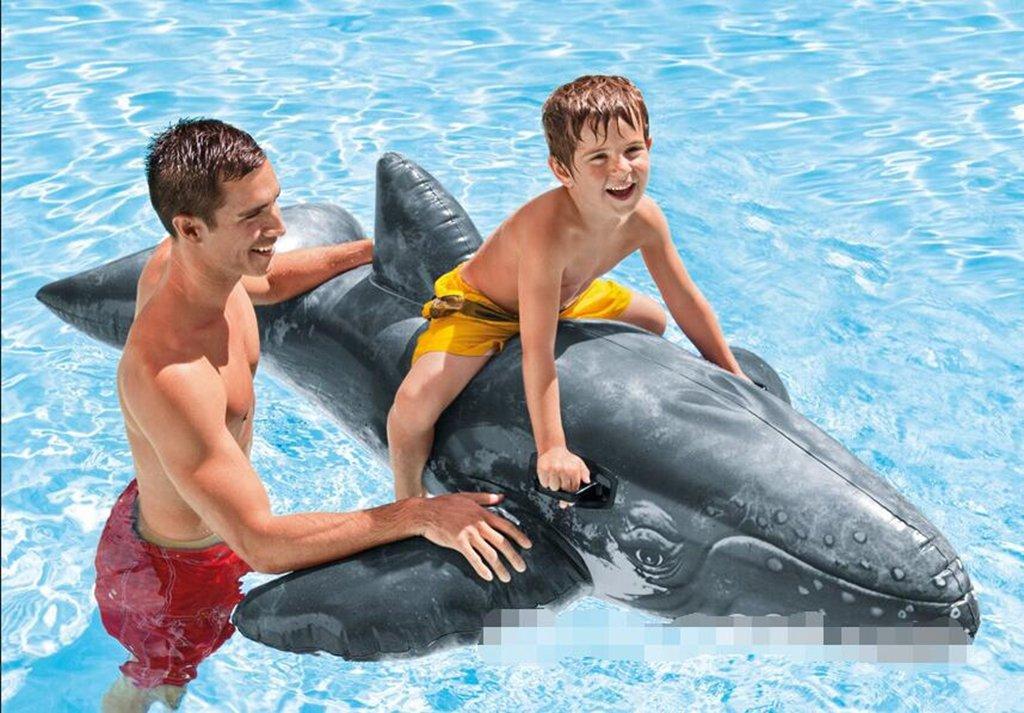 Agua caballo, ballena, flotante, atracciones inflables, niño, dibujos animados, nadar, jugar, juguete, flotador montaje: Amazon.es: Deportes y aire libre