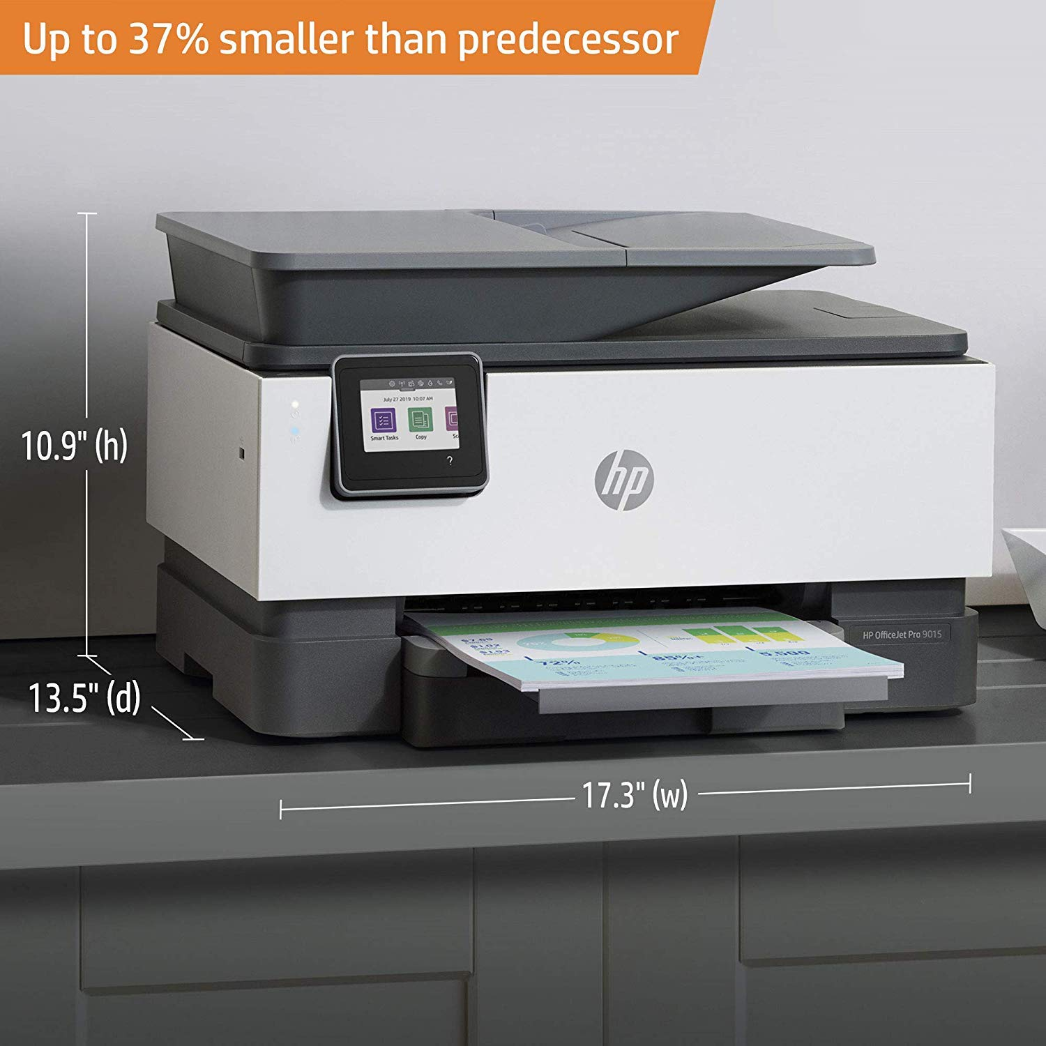 HP OfficeJet Pro 9015 All-in-One Wireless Printer, with Smart Tasks for Smart Office Productivity & Never Run Out of Ink with HP Instant Ink (1KR42A) by HP (Image #13)
