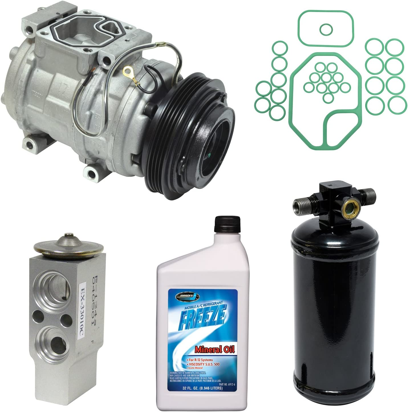 Universal Air Conditioner KT 3841 A//C Compressor and Component Kit