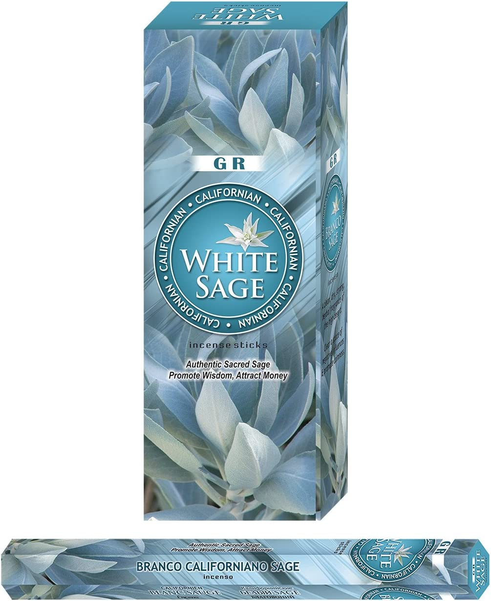 Californian White Sage Incense, 120 Sticks