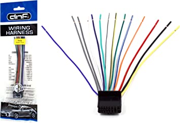 Amazon.com: DNF Pioneer Wiring Harness 0307 DEH-P4000UB DEH-P400UB DEH-P4900IB  DEH-P490IB- 100% Copper Wires!: AutomotiveAmazon.com