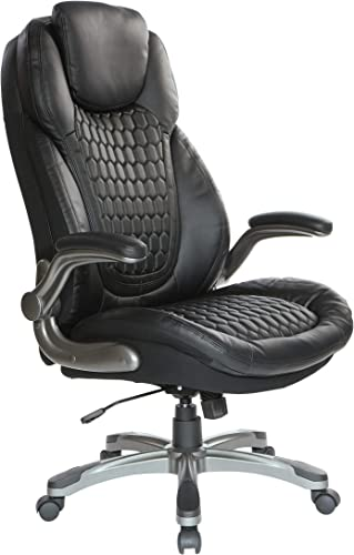 Office Star Bonded Leather High Back Chair