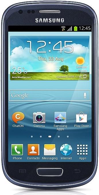 468 opinioni per Samsung Galaxy S3 mini I8190 Smartphone, Display AMOLED da 10.2 cm (4 Pollici),