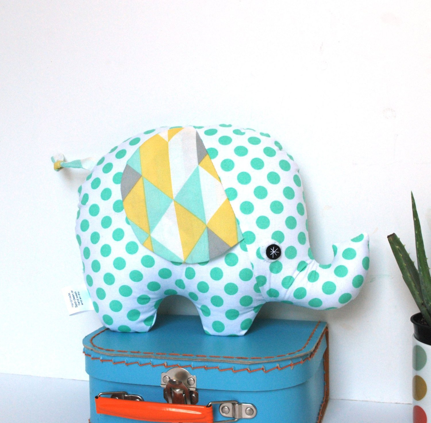 Unique Baby Gift Elephant Plush Softie Baby Toy Stuffed Elephant Baby Shower Gift