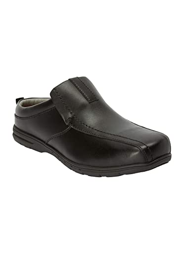ef573990c4b93 KingSize Men's Big & Tall Casual Leather Slides