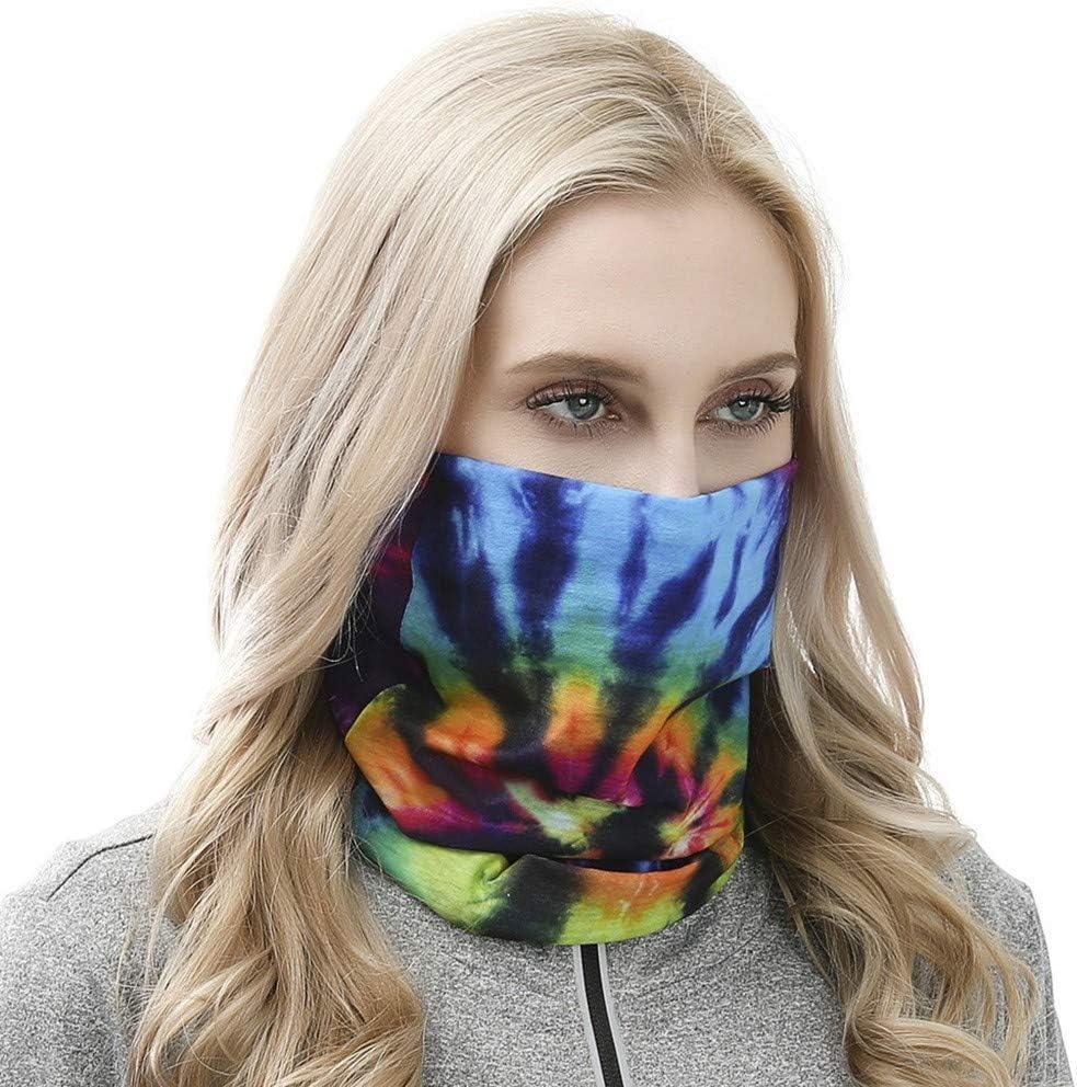 Innerternet Multifunktionstuch Mikrofaser Schlauchtuch Kopftuch Damen Schlauchtuch Sonnenschutz Radfahren Neckwarmer Stirnband Winddicht Skifahren Kopf Wrap Bandana UVSchutz