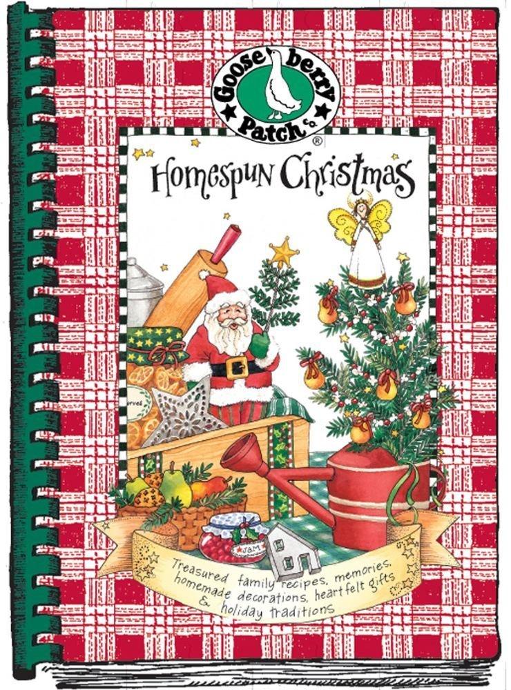 Homespun Christmas Treasured Family Recipes Memories Homemade