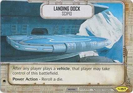 Amazon com: Star Wars Destiny - Landing Dock- Scipio