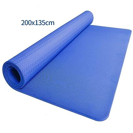 Amazon.com : YJYDD Exercise Mat, Double Yoga Mat 21.35m TPE ...