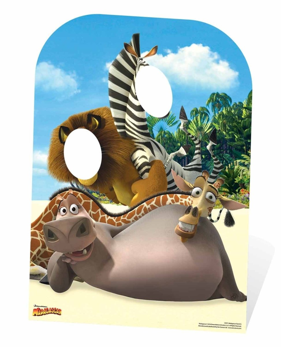 Madagascar Movie Stand-In Life Size Cardboard Cutout SC971