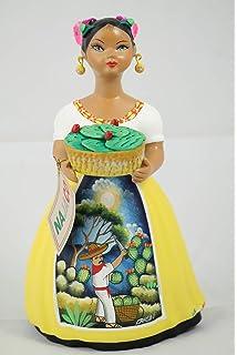 Amazon.com: NAJACO Premium Mexicano Lupita Muñeca Sujetar ...