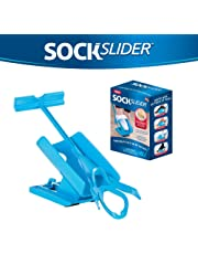 Allstar Innovations - Sock Slider - The Easy on, Easy Off Sock Aid Kit & Shoe Horn | Pain Free No Bending, Stretching or Straining System That Packs up for Convenient Travel, As Seen on TV