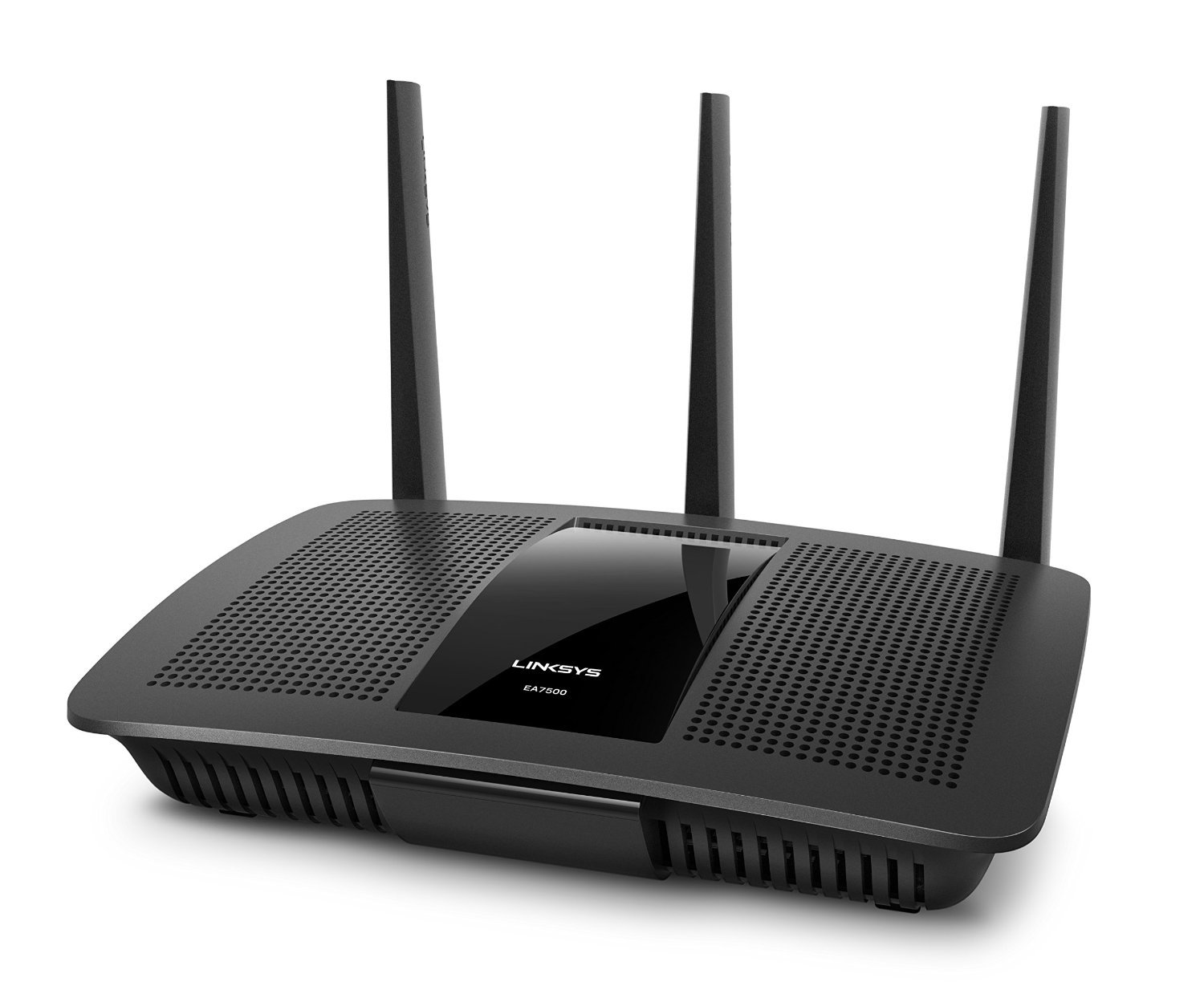 Linksys EA7500-EU Wireless Dualband MU-MIMO Gigabit Router (1x USB 3.0, 1x USB 2.0, 4x Gigabit, 3 x 3 Next AC-Generation Beamforming, Smart Wi-Fi App)