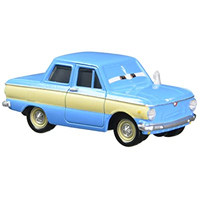 Disney/Pixar Cars Vladimir Trunkov with Car Boot Die-cast Vehicle: Toys & Games