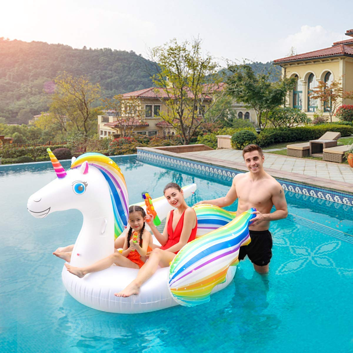 Keenstone Unicorn Pool Float